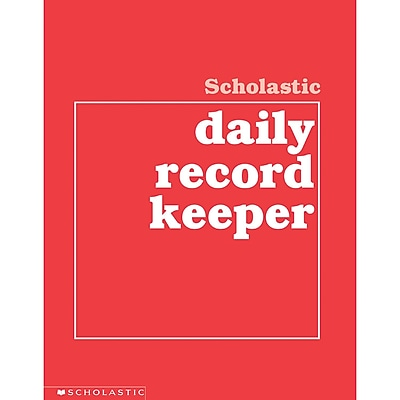 Scholastic® Daily Record Keeper Book, Grades K - 6