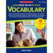 "Scholastic® ""Using Read-Alouds to Teach: Vocabulary"" Book, Vocabulary Skills"