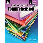 """Shell Education """"Read and Succeed: Comprehension"""" Level 3 Book, Language Arts/Reading"""