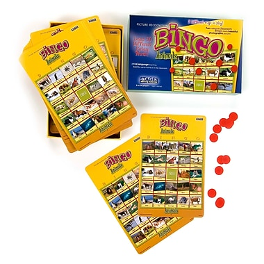 Stages Learning Materials® Animals Bingo Game, Grades 3 - 5