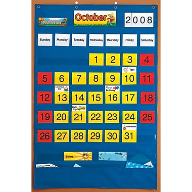 Patch Products Smethport Lauri Calendar Pocket Chart (SME746)