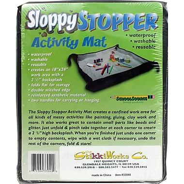 The Stikkiworks Co Sloppystopper® Activity Mat, Grades All, 3/Set