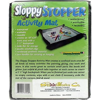 The Stikkiworks Co Sloppystopper® Activity Mat, Grades All