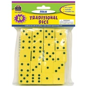 Teacher Created Resources Foam Traditional Dice, Grades K-4