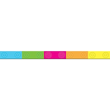 Teacher Created Resources Happy Faces Wristband, 10/Pack (TCR6550)