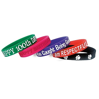 Teacher Created Resources Character Traits Wristband, 40/Pack (TCR6569)
