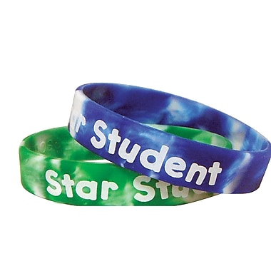 Teacher Created Resources Fancy Star Student Wristband, 30/Pack (TCR6572)