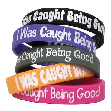 Teacher Created Resources I Was Caught Being Good Wristband, 10/Pack (TCR6573)
