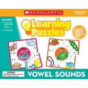 Scholastic® Teacher's Friend Vowel Sounds Learning Puzzle