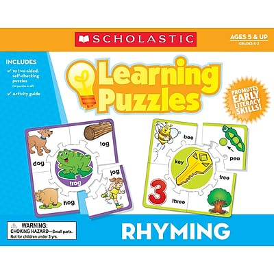 Scholastic® Teacher's Friend Rhyming Learning Puzzle
