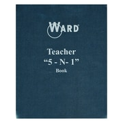 "Ward® Teacher ""5-N-1"" Grade Book, Grades All"