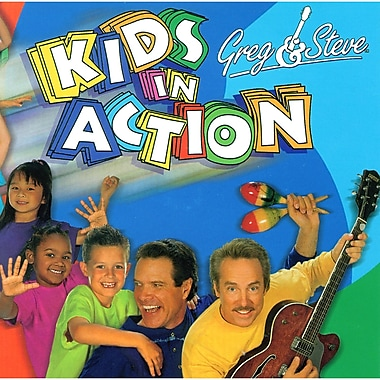 Greg & Steve Kids In Action Cd (YM-017CD)