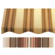 """Awntech® 10' San Francisco® Window/Entry Awning, 24"""" x 42"""", Brown/Linen/Terra"""