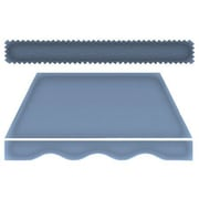 "Awntech® 16' New Yorker® Window/Entry Awning, 44"" x 24"", Dusty Blue"