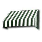 """Awntech® 8' New Yorker® Window/Entry Awning, 44"""" x 24"""", Forest/White"""