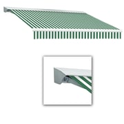 """Awntech® Destin® EX Manual Retractable Awning, 20' x 10' 2"""", Forest/White"""