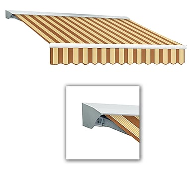Awntech® Destin® LX Manual Retractable Awning, 10' x 8', Terra/Tan