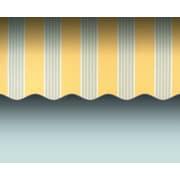 "Awntech® Maui® LX Left Motor Retractable Awning, 24' x 10' 2"", Light Yellow/Gray"