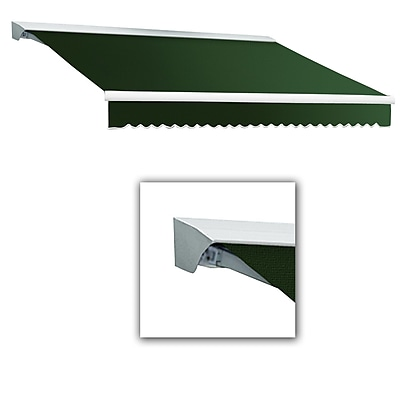 Awntech® Destin® LX Left Motor Retractable Awning, 12' x 10', Forest