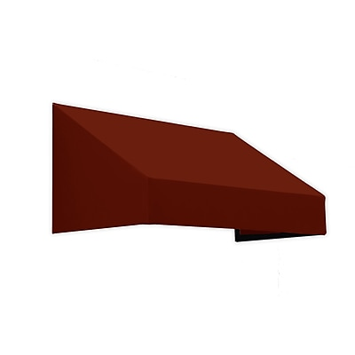 "Awntech® 14' New Yorker® Window/Entry Awning, 18"" x 36"", Terracotta"