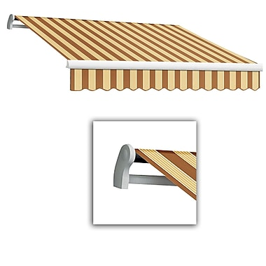 Awntech® Maui® LX Right Motor Retractable Awning, 12' x 10', Terra/Tan
