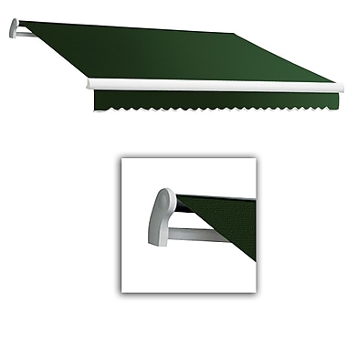 Awntech® Maui® LX Right Motor Retractable Awning, 12' x 10', Forest