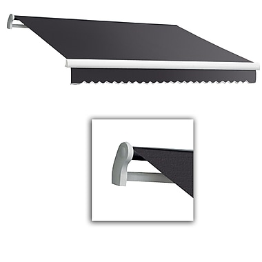 Awntech® Maui® LX Left Motor Retractable Awning, 12' x 10', Gun Metal