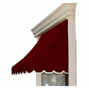 "Awntech® 6' Nantucket® Window/Entry Awning, 31"" x 24"", Burgundy"