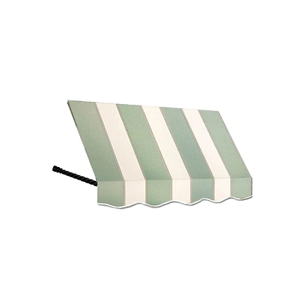 "Awntech® 3' Santa Fe® Window/Entry Awning, 44"" x 24"", Sage/Linen/Cream"
