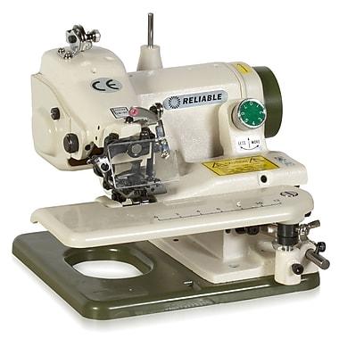 Reliable Portable Blindstitch Machine with Skip Stitch Sewing Machine 700SB, White
