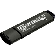 KANGURU Hardware Encrypted Secure Flash Drive 128GB USB 3.0 USB Flash Drive Black