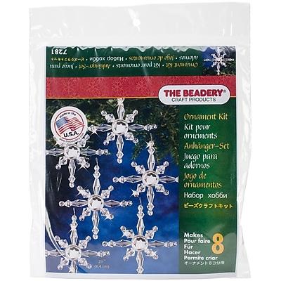 Beadery® Holiday Beaded Ornament Kit, 7