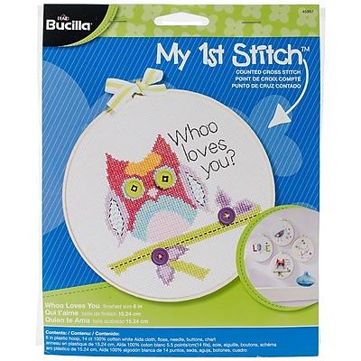 Bucilla® My 1st Stitch Whoo Loves You 6