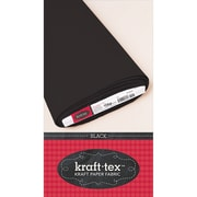 "C&T Publishing Kraft-tex™ Kraft Paper Fabric Roll, Black, 19"" x 10 yard"