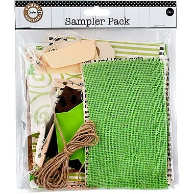 Canvas Corp™ Sampler Pack, 0.25 lbs., Green