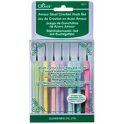 Clover Amour Steel Crochet Hook Set