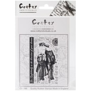 """Crafty Individuals 4 3/4"""" x 7"""" Unmounted Rubber Stamps"""