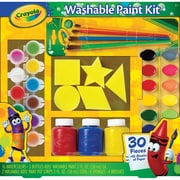 "Crayola® Washable Kid's Paint Kit, 12.2"" x 11.8"" x 2"""