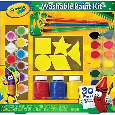 Crayola® Washable Kid's Paint Kit, 12.2