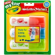 Crayola My First Crayola Easy Grip Washable Markers (81-1346)