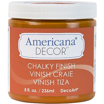 Deco Art Americana Decor Non-Toxic 8 oz. Chalky Finish Paint, Heritage (ADC-09)