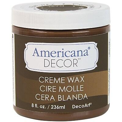 Deco Art ADM8-07-36 Deep Brown Americana Decor Creme Wax