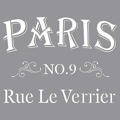Deco Art® Americana® Decor™ Stencil, Parisian Street