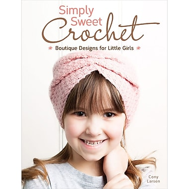 Design Originals Simply Sweet Crochet Book, Boutique Design