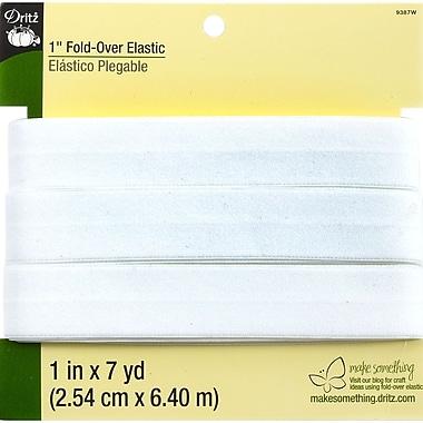 Dritz™ Fold-Over Elastic, White