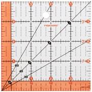 "Fiskars® 4 1/2"" x 4 1/2"" Ruler"