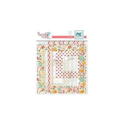 Hazel & Ruby® Pic Pockets Die-Cut Cardstock Embellishment, On Trend