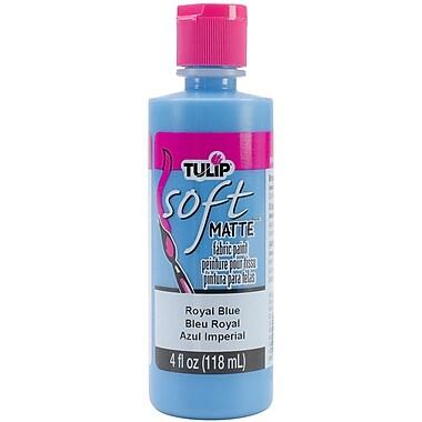 I Love To Create Tulip Soft 4 oz. Fabric Paint, Royal Blue Matte (TSFP-20407)