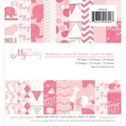 "Imaginisce® 6"" x 6"" Paper Pad, My Baby Girl (400600)"