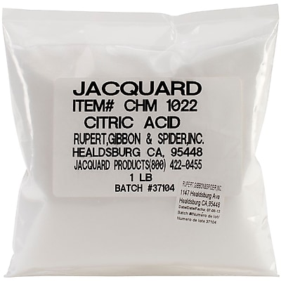Jacquard Products Citric Acid, 1 lbs.